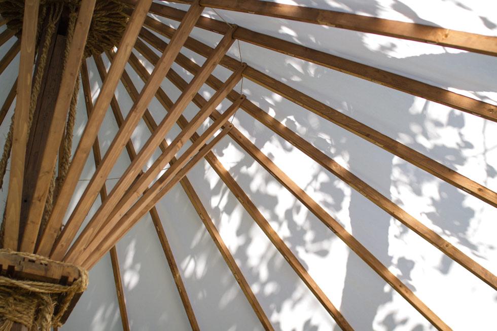 Kanna Fall Art Festival 2014 Kjell Hahn and Fuyuko Kobori Tearoom inside