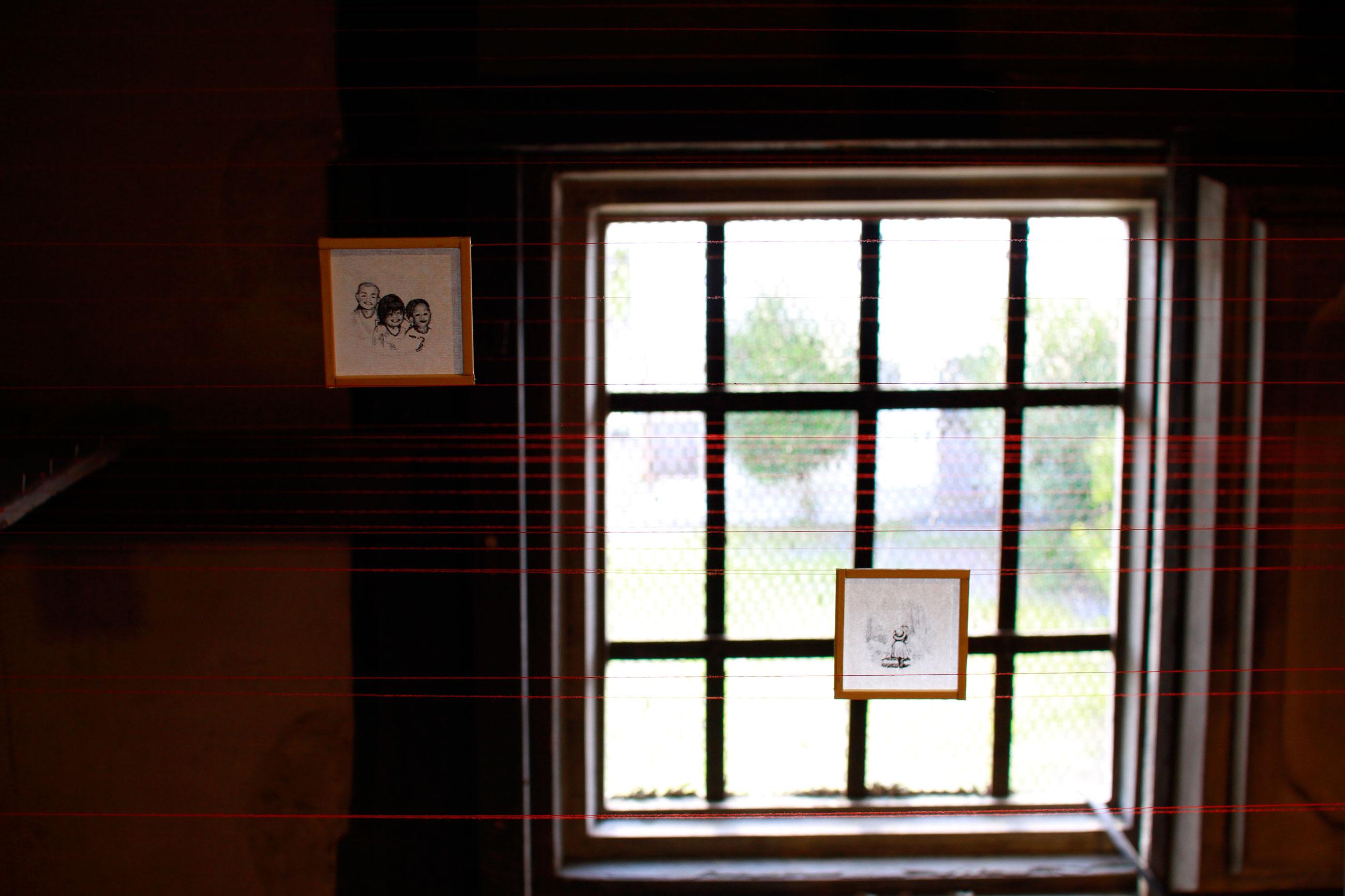 鬼石夏祭りに参加したアーティスト。2016年鬼石の展示会。Shiro Oni Studio art Exhibition 2016