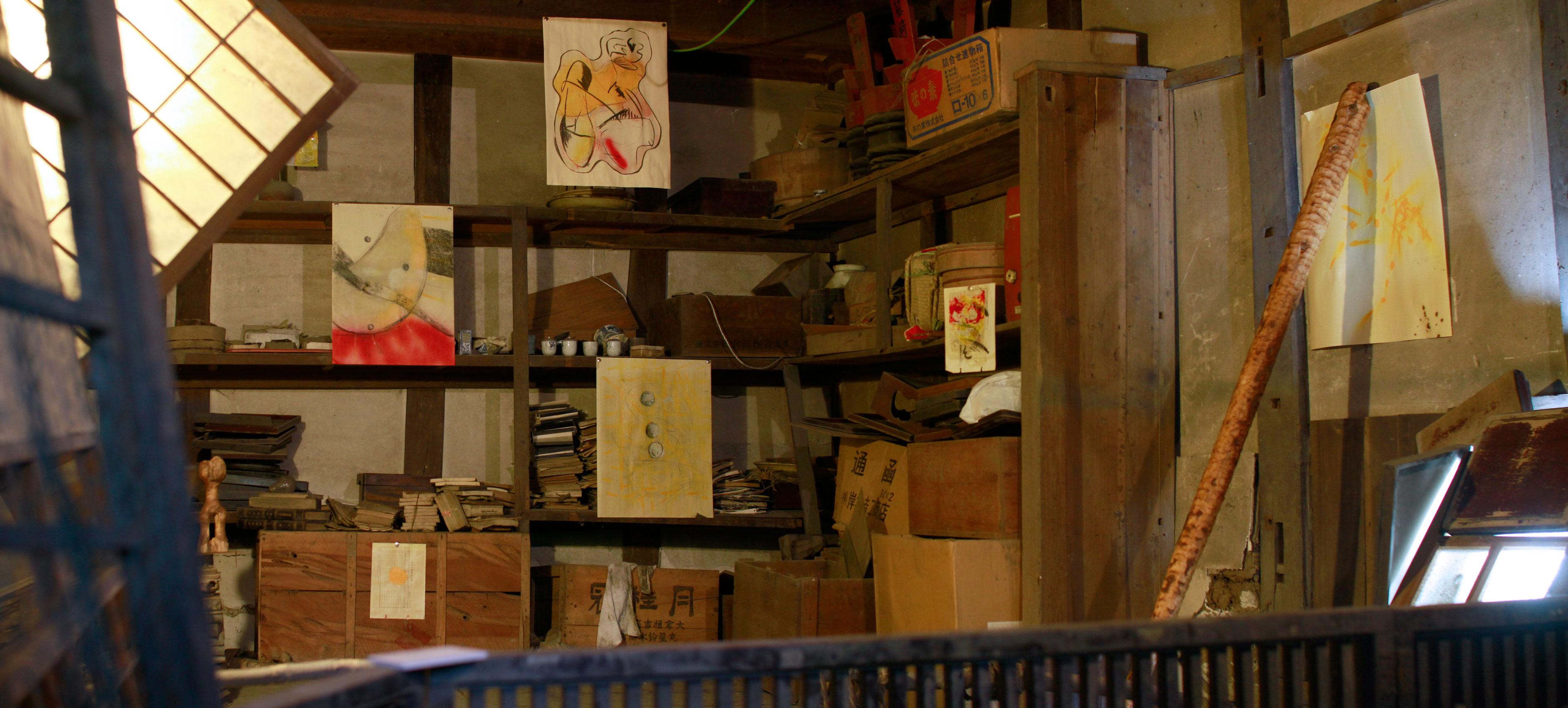 かんな秋アート祭り2016年鬼石展示会Art Residency Japan Kanna Art Festival 2016