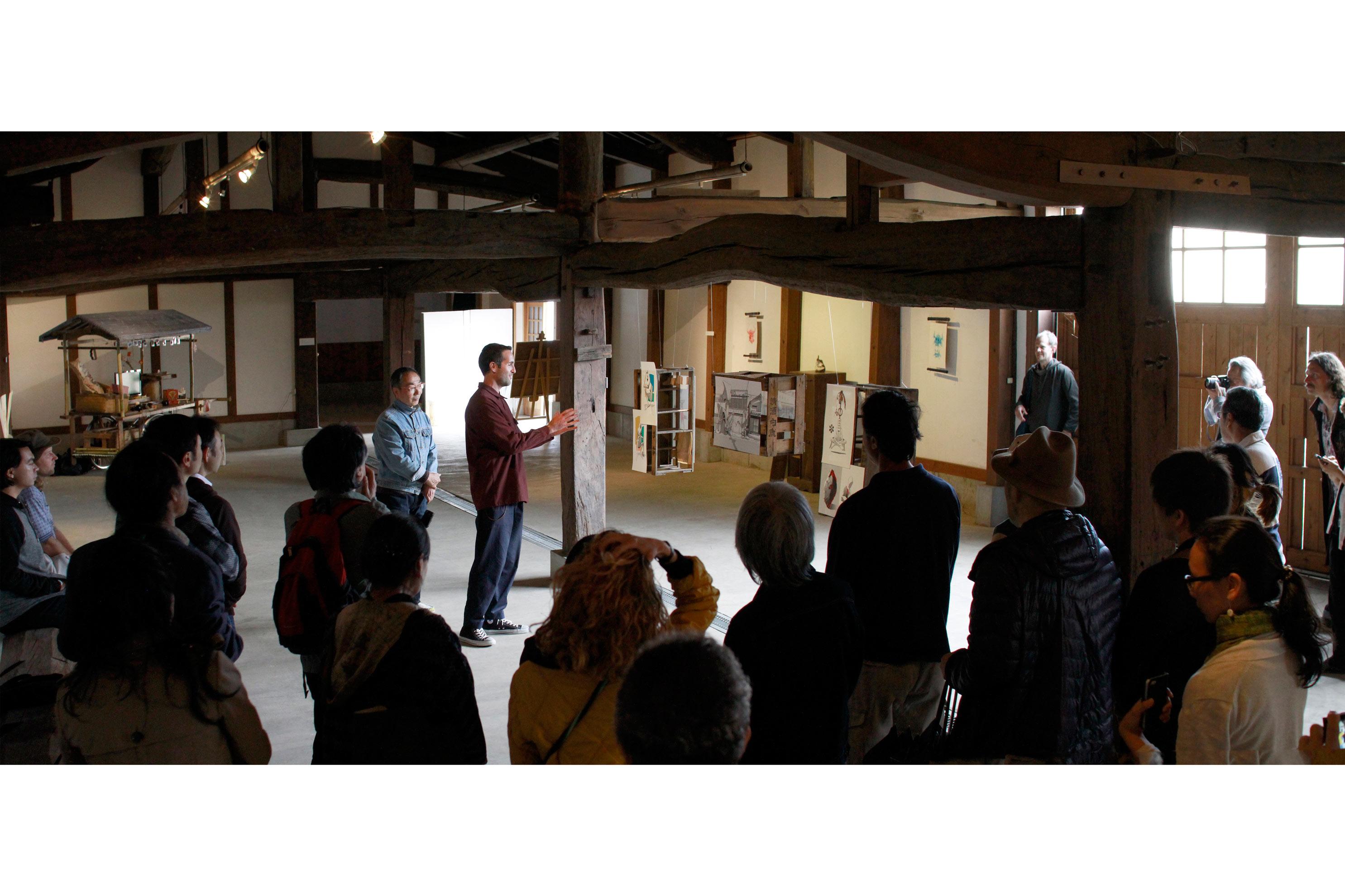 Shiro Oni Studio Art Residency Japan Exhibition April 2017