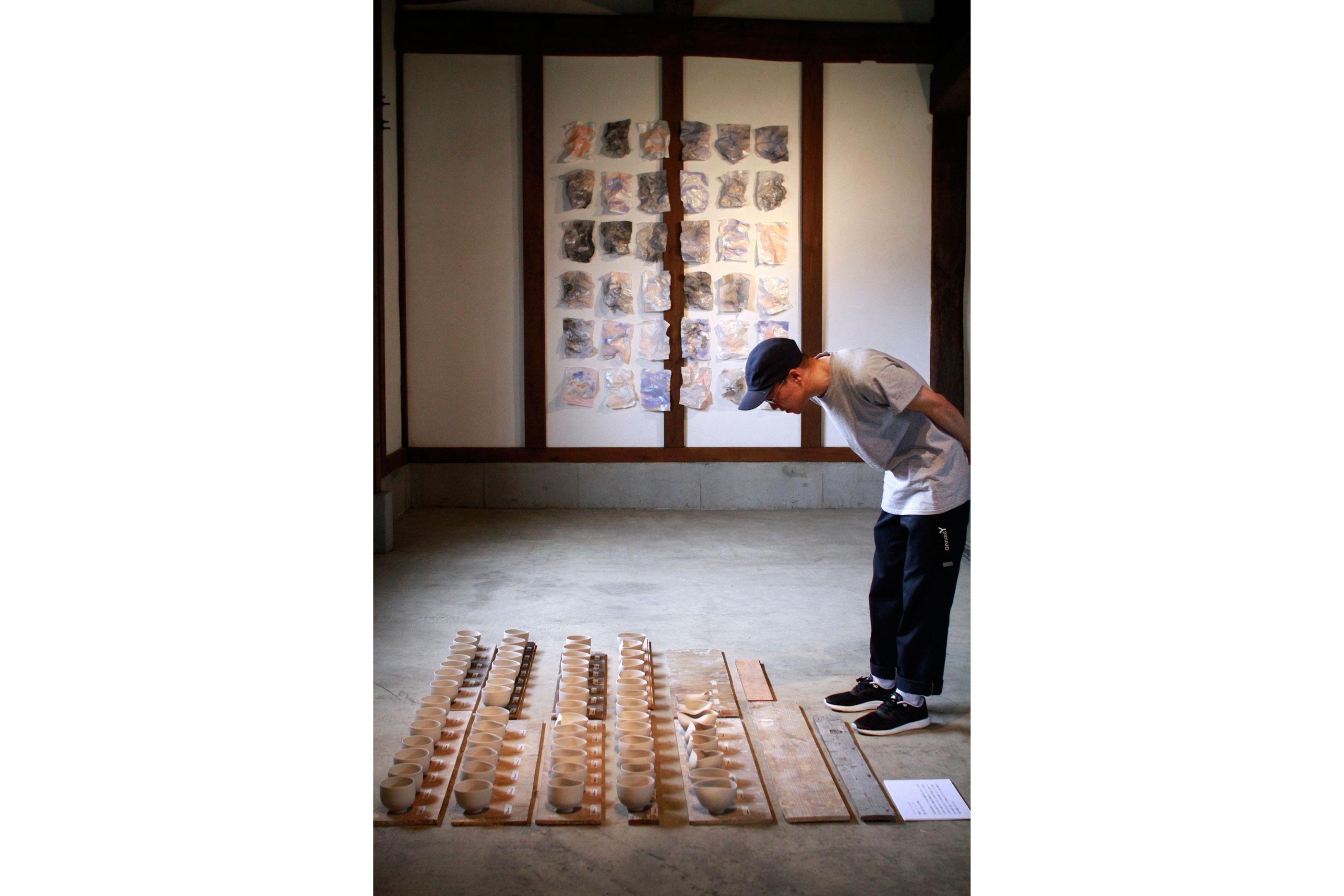 Japan Art Exhibition Shiro Oni Studio Art Residency シロオニスタジオの展覧会 2017 June Lena Kaapke