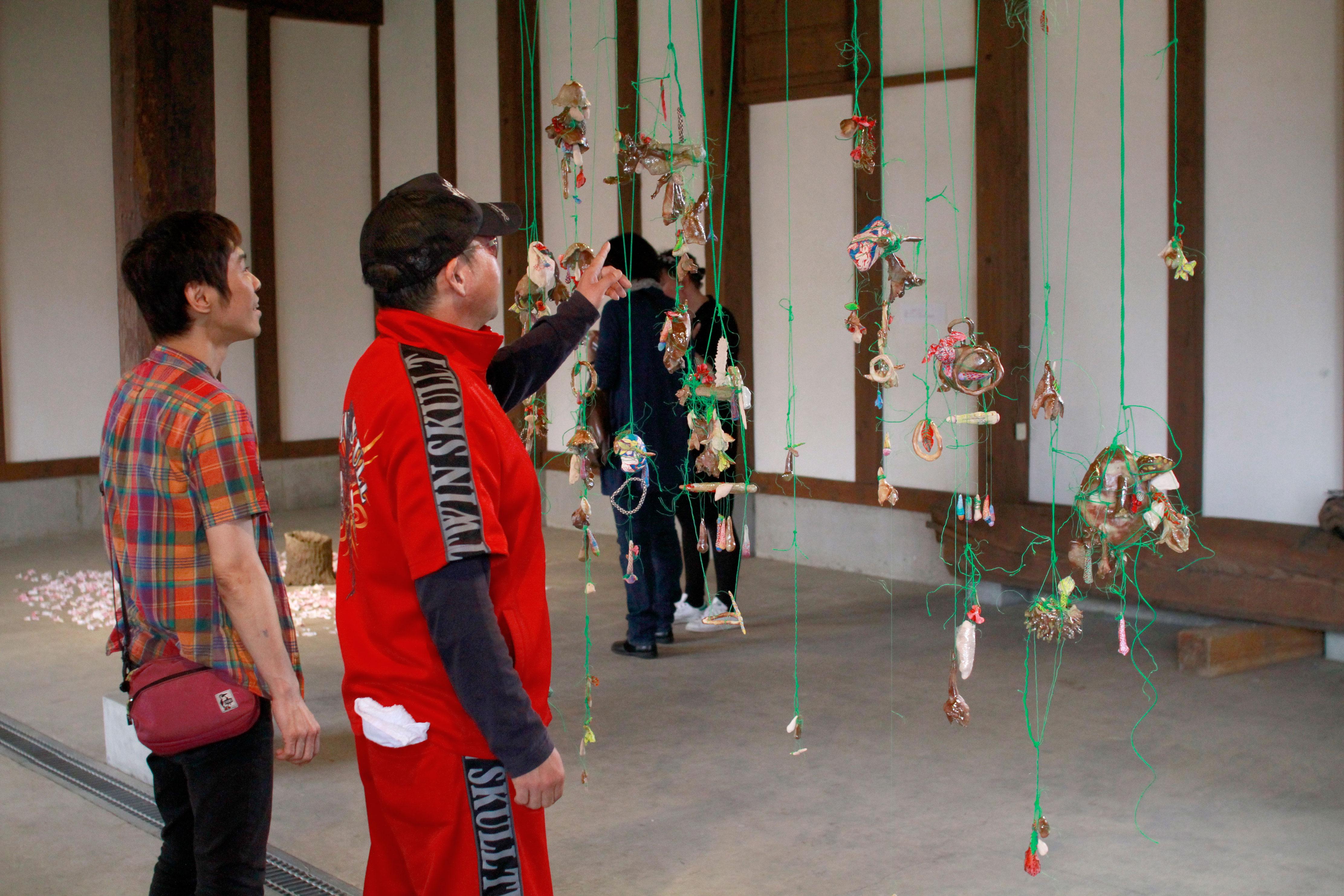 Japan Art Exhibition Shiro Oni Studio Art Residency シロオニスタジオの展覧会 2017 June Josianne