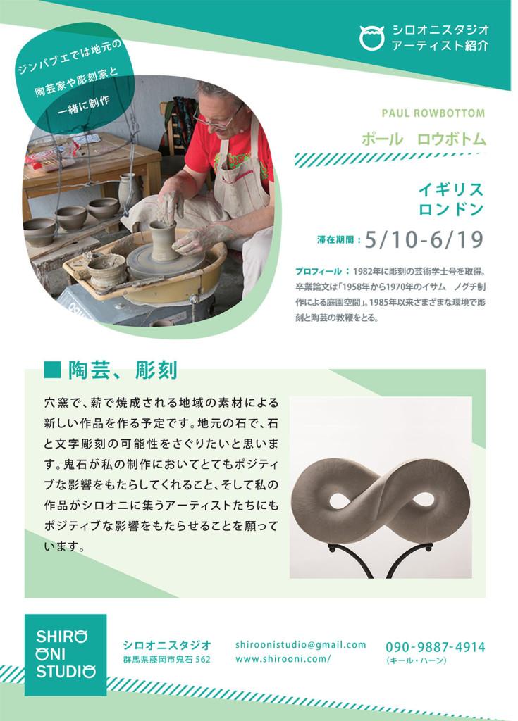 Ceramic artist partipating in anagama kiln firing in Japanese Art residency, shiro oni studio