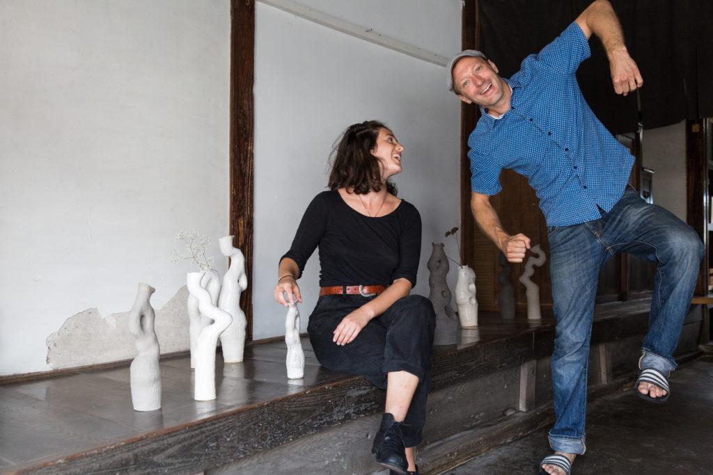 Shrio Oni Studio art residency Founder Kjell Hahn